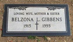 Belzora Louise <i>McNair</i> Gibbens