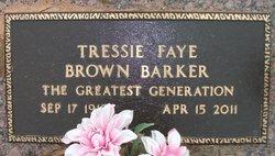 Tressie Fay <i>Brown</i> Barker