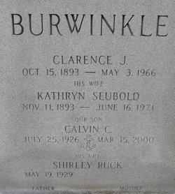 Kathryn Wilhelmina <i>Seubold</i> Burwinkle