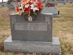 Clifford Cliff Ballion, Jr