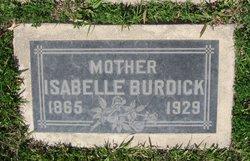 Isabelle H. <i>Ford</i> Burdick