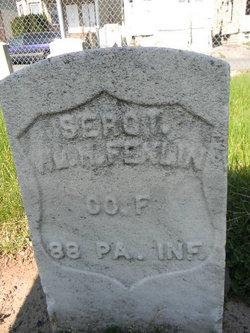 Sgt William H Fenlin