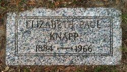 Elizabeth <i>Paul</i> Knapp
