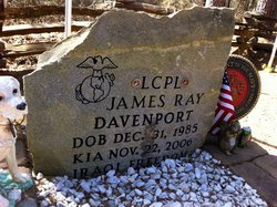 LCpl James Ray Davenport