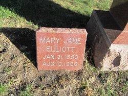 Mary Jane <i>Battin</i> Elliott