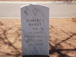 Robert I Bailey