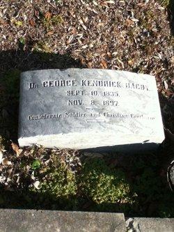 Dr George Kendrick Bagby