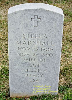 Stella <i>Marshall</i> Brady