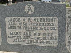 Mary Ann <i>Bricker</i> Albright