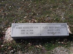 Mamie <i>Hamilton</i> Cox