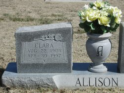 Clara <i>Rutherford</i> Allison