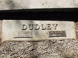Mary L <i>Moulton</i> Dudley