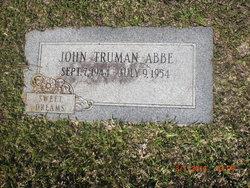 John Truman Abbe
