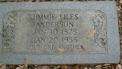 Jimmie <i>Liles</i> Anderson