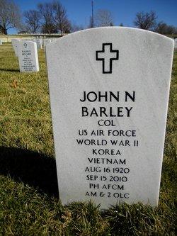 Col John Nichols Nick Barley