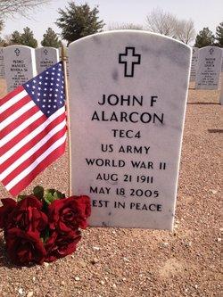 John F Alarcon