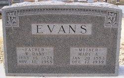 Mary Ann <i>Jackson</i> Evans