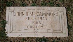 John H. McCammon, III