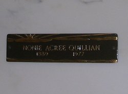 Nonie <i>Acree</i> Quillian