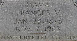 Frances M. Fannie <i>Ivy</i> Harris