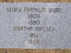 Martha <i>Massey</i> Bivens