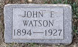 John Edward Shorty Watson