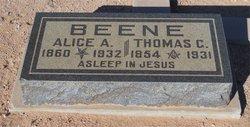 Alice Adelia <i>Rogers</i> Beene