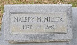Malery M. Miller
