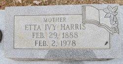 Cynthia Rosetta Etta <i>Ivy</i> Harris