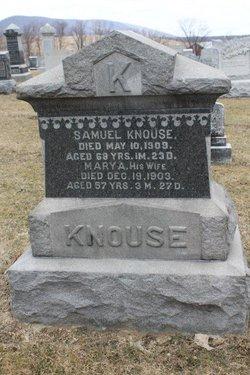 Mary A. <i>Brouse</i> Knouse