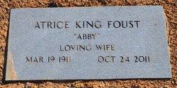 Atrice <i>King</i> Foust