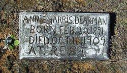 Annie <i>Harris</i> Dearman