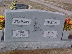 Sarah Edith <i>Ellis</i> Atkisson