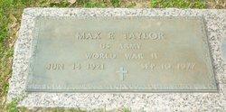Max Edwin Taylor