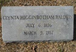 Lavicie Clynta <i>Higginbotham</i> Baldwin