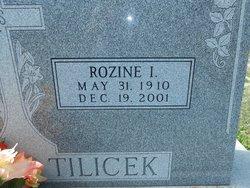 Rozine <i>Pennington</i> Tilicek