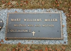 Mary Louise <i>Williams</i> Miller