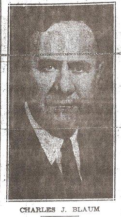 Charles John Blaum, Jr
