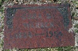 Cora B. <i>Newlon</i> Warren