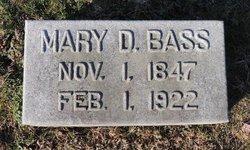 Mary Baker <i>Drane</i> Bass