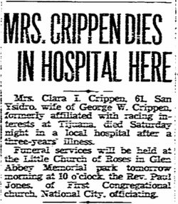 Clara I Crippen