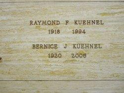 Bernice Josephine Bunny <i>Brost</i> Kuehnel