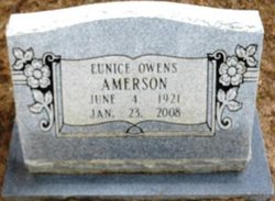 Eunice Owens Amerson