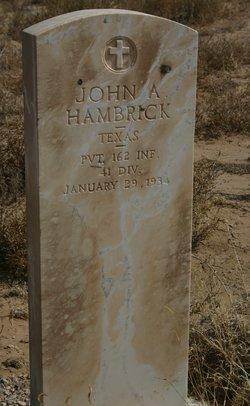 John A. Hambrick