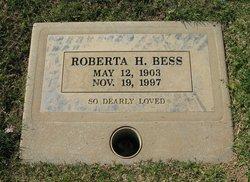 Roberta <i>Hutchinson</i> Bess