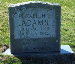 Elizabeth I Adams
