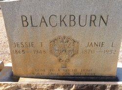 Jessie T Blackburn