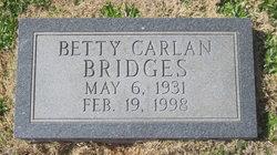 Betty <i>Carlan</i> Bridges