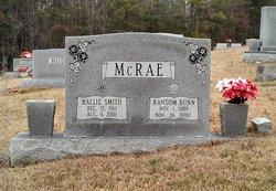 Hallie <i>Smith</i> McRae