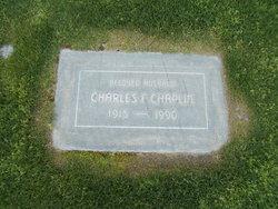 Charles F Chaplin